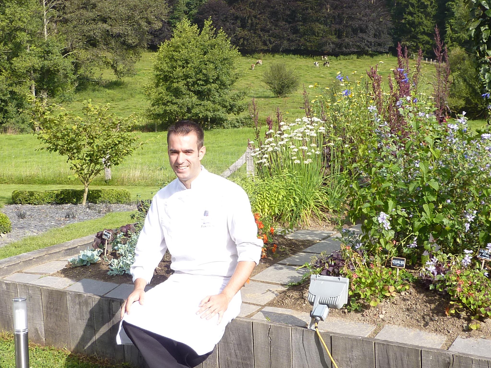 6 jeunes chefs la campagne joelle rochette for La table de maxime